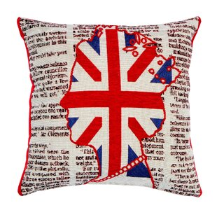 Union Jack Queen Cushion Cover