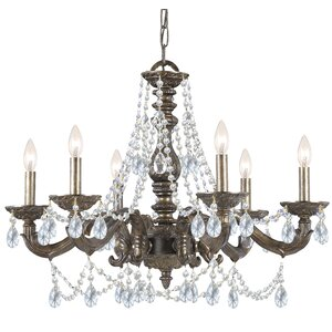 Odessa 6-Light Crystal Chandelier