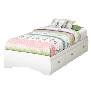 Tiara Twin Mate's Bed with Storage