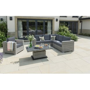 Inwood Garden Corner Sofa with Cushions by Lynton Garden