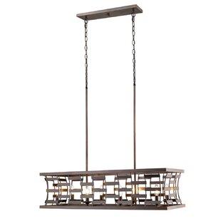 rectangular chandelier fixture wayfair