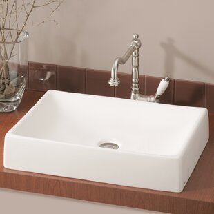 White Low Profile Vessel Sink Wayfair