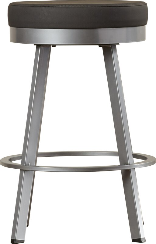 Brayden Studio Jamieson 26 25 Quot Swivel Bar Stool Amp Reviews