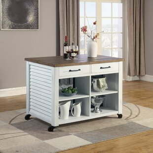 Cambridgeshire Kitchen Cart Solid/Manufactured Wood