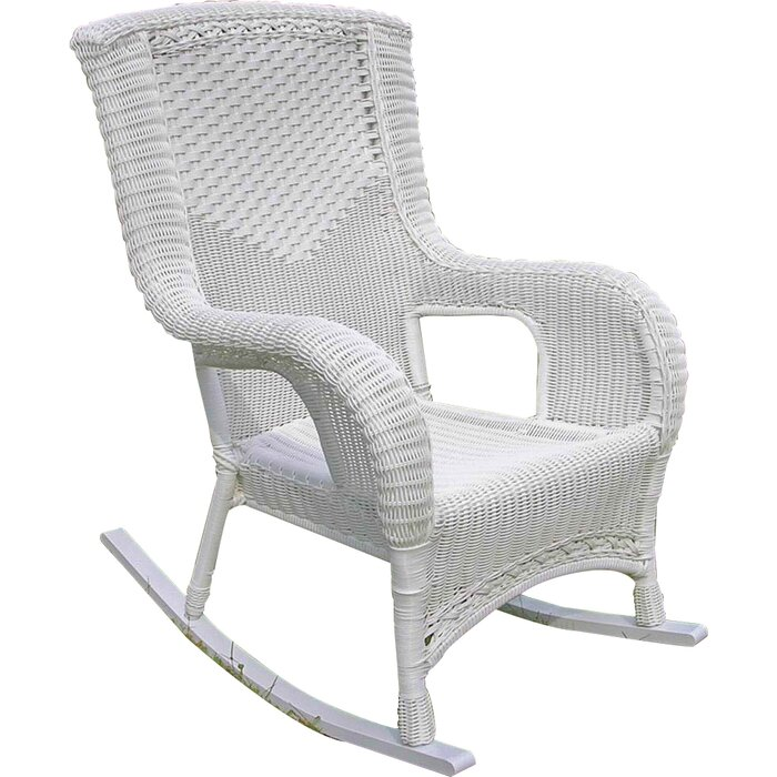 Wondrous Wellington High Back Patio Rocking Chair Download Free Architecture Designs Xerocsunscenecom