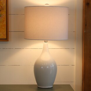 Save & White Wash Lamp | Wayfair