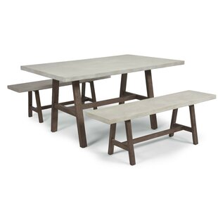 Jameown 3 Piece Dining Set