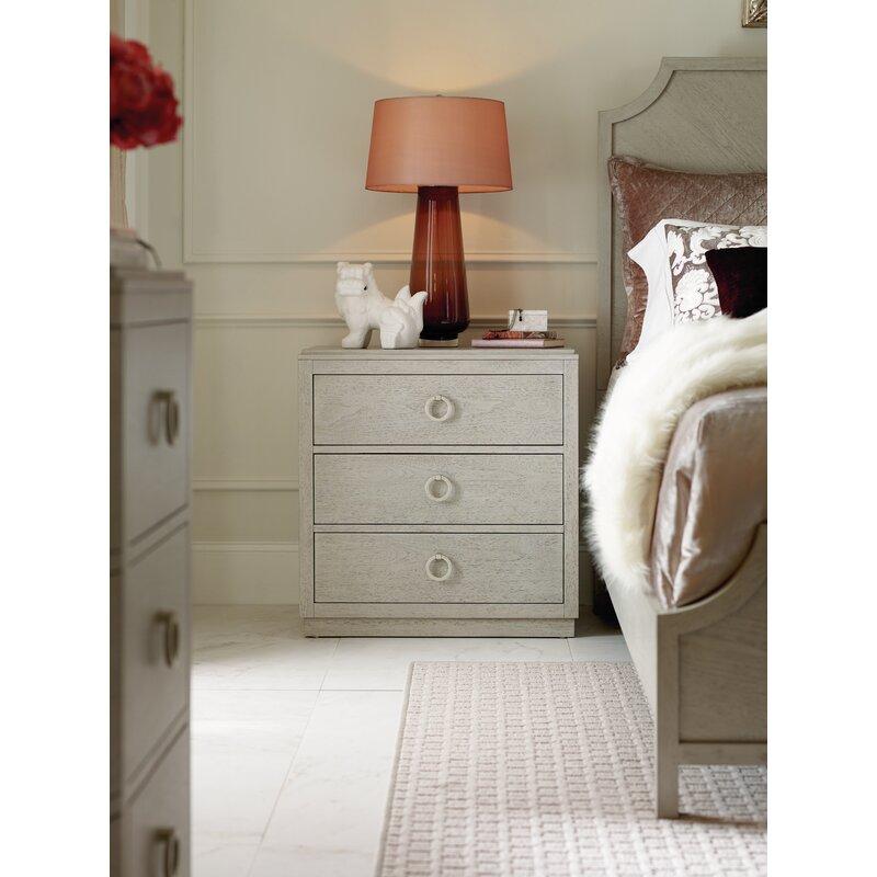 Night Stand Designs : Rachael ray home cinema drawer nightstand reviews wayfair