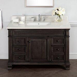 Bathroom Vanities 48 X 18 18 inch deep bathroom vanity | wayfair