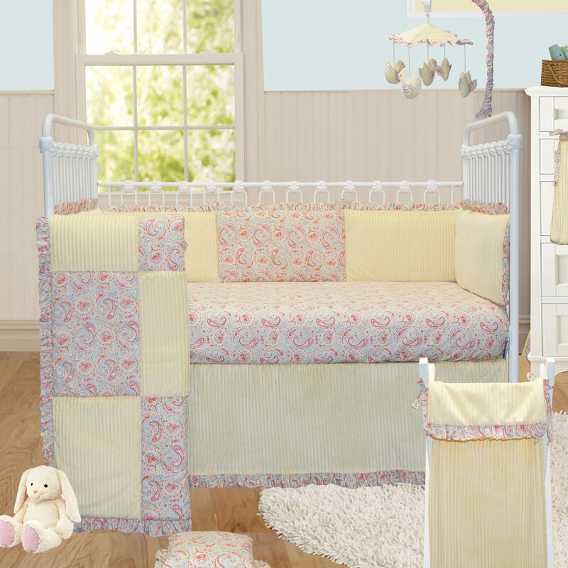 Gustave Paisley Crib Bedding Set