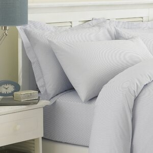 Cambridge Stripe 200 Thread Count Egyptian Quality Cotton Fitted Sheet