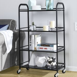 4 Tiers Storage Kitchen Cart by Symple St..