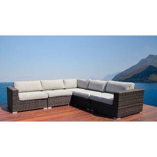 Nolen Resort Grade Patio Sectional With Cushions