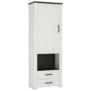 Ordinaire Knowles Tall Narrow Glazed 1 Drawer 1 Door Cabinet