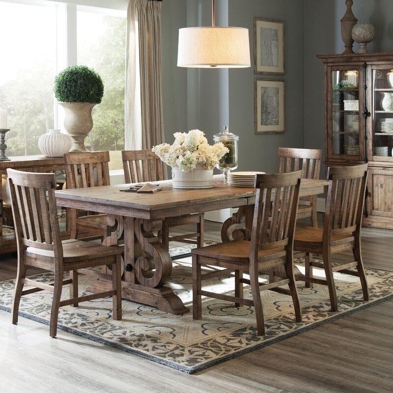 World Menagerie Devereaux Rectangular Dining Table & Reviews | Wayfair