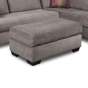 Graphite Ottoman by Wildon..