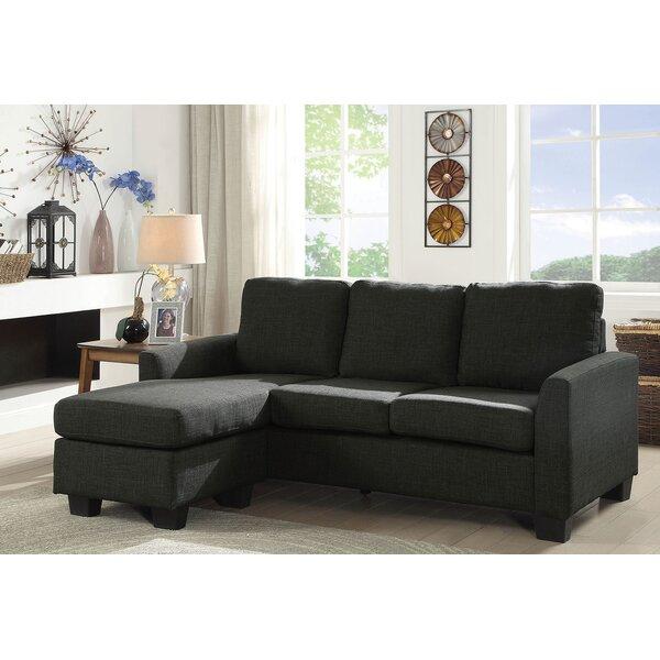 Winston Porter Miele Corner Sleeper Sofa   Wayfair