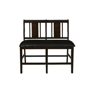 Dacosta Faux Leather Bench
