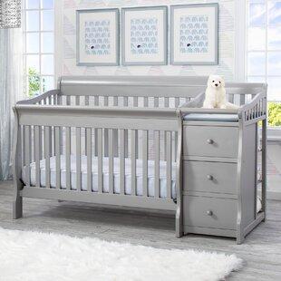 Crib Changing Table Combo
