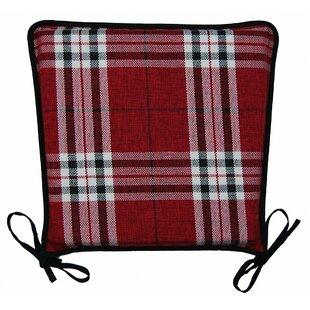 Tartan Luxury Dining Chair Cushion