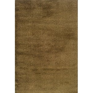 Mazon Solid Gold Area Rug