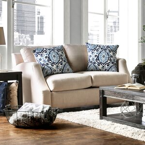 Donaldson Contemporary Loveseat by Darby Hom..