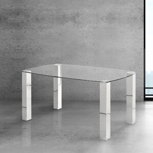 Elliana Modern Brushed Dining Table by Wade Logan