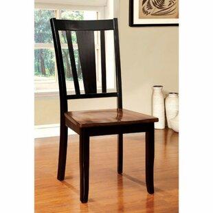 Adalbert Solid Wood Dinning Chair (Set of 2)