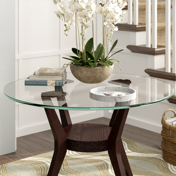 48 In Round Glass Dining Table Wayfair