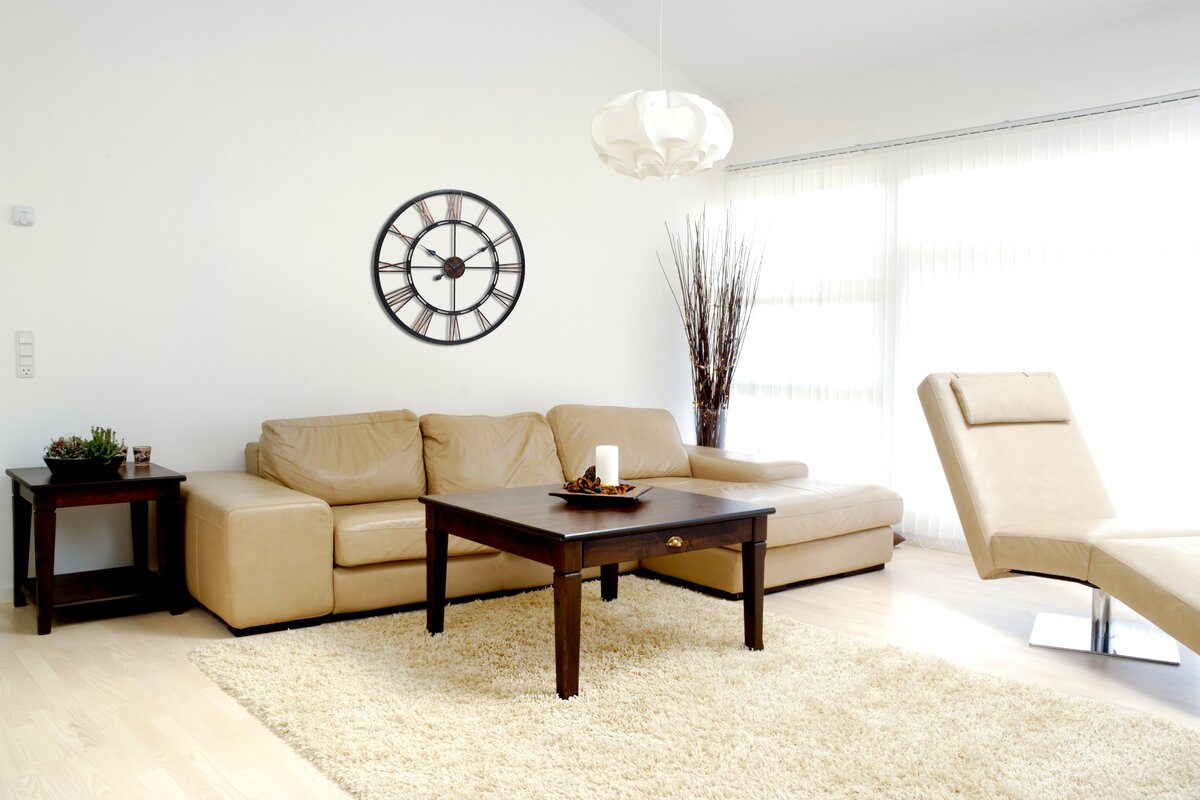 Dorosey Round Oversized Wall Clock Amp Reviews Joss Amp Main
