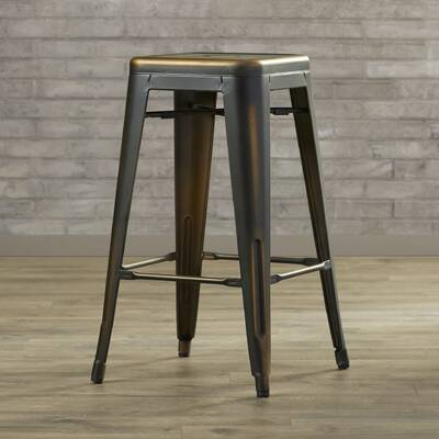 Wivenhoe Counter Stool 26 In Gunmetal Reviews Birch Lane
