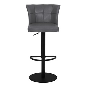 Denison Adjustable Height Bar Stool by Latitude Run