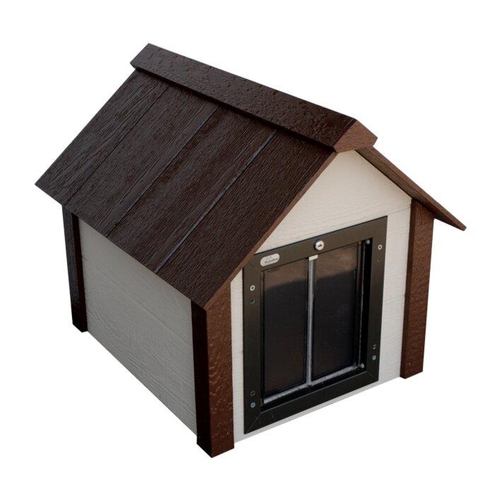 tucker murphy pet carlin insulated dog house & reviews | wayfair.ca