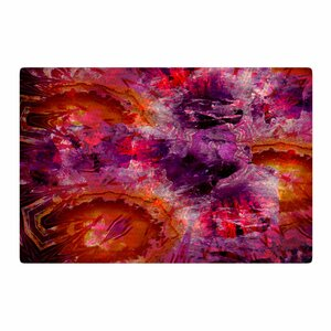 Suzanne Carter Gem Stone Red/Pink Area Rug