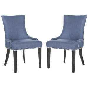 carraway upholstered dining chair set of 2