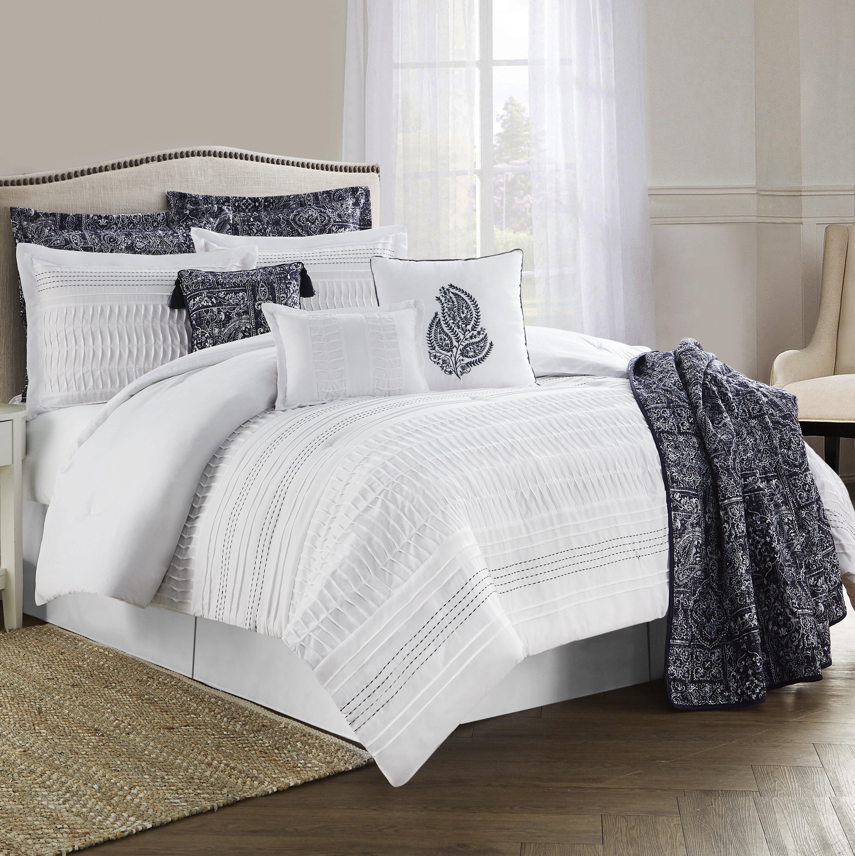 Charlton Home Kight 10 Piece Comforter Set Reviews Wayfair