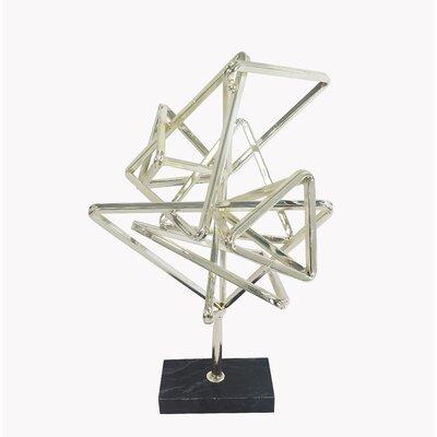 Brayden Studio Contemporary Geometry Table Top Décor Sculpture