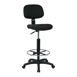 Work Smart Low Back Drafting Chair
