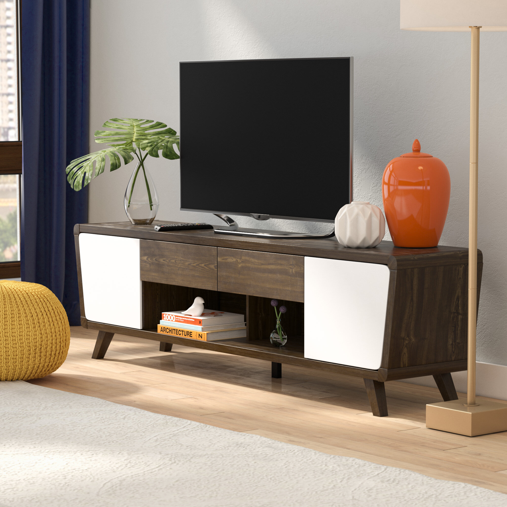 Dormer Modern TV Stand for TVs up to 70\