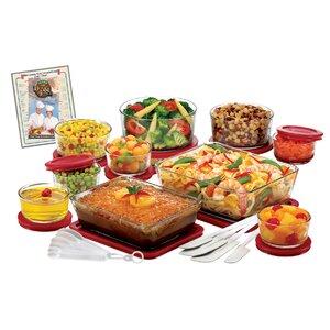 22 Container Food Storage Set