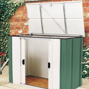4 ft w x 2 ft d metal garden shed - Garden Sheds 6 X 2