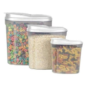 3 Canister Cereal Dispenser Set