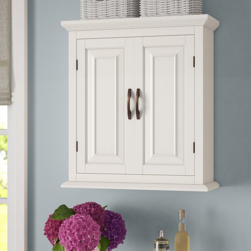 wall mounted bathroom cabinets. Prater 22 5  W x 25 H Wall Mounted Cabinet Bathroom Cabinets You ll Love Wayfair