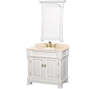 Andover 36 Single Bathroom Vanity Set with Mirror