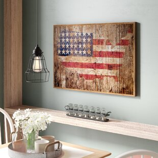 d0dcea145fc  American Flag  Graphic Art Print on Paper