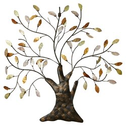 Twig Wall Decor august grove nadia tree & leaves wall décor & reviews | wayfair