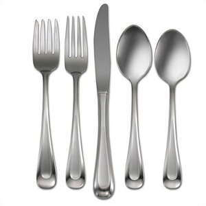 Satin Sand Dune 20 Piece Flatware Set