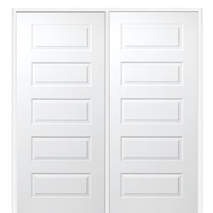 Rockport MDF 5 Panel Primed Prehung Interior Door