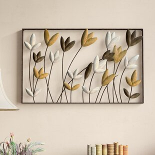 Metal Flowers Wall Décor