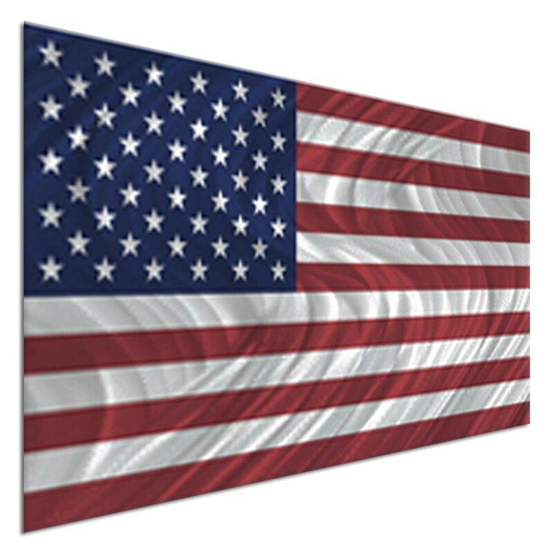 All My Walls USA Flag Wall Décor | Wayfair